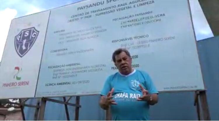Paysandu:Luíz Omar quer levar o bicolor novamente à glória